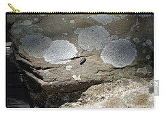 Carry-all Pouch featuring the photograph A Bug's World by Christina Verdgeline