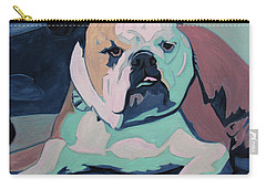 A Bulldog In Love Carry-all Pouch
