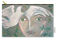 A Captured Young Emotion Carry-all Pouch by John Keaton