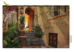 A Charleston Garden Carry-all Pouch by Kathy Baccari