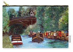 A Cheshire Canal Remembered Carry-all Pouch