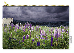 A Childs Dream Among Lupine Carry-all Pouch