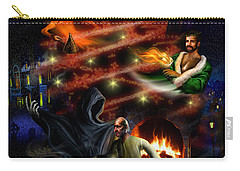 A Christmas Carol Carry-all Pouch by Alessandro Della Pietra