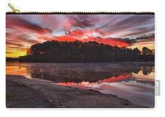 A Christmas Eve Sunrise Carry-all Pouch by Gordon Elwell