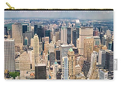 A Cloudy Day In New York City   Carry-all Pouch by Lars Lentz