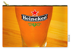 A Cold Refreshing Pint Of Heineken Lager Carry-all Pouch