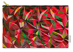 Colorful Shapes Blend Carry-all Pouch