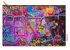 A Colourful Wall. Carry-all Pouch