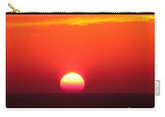Carry-all Pouch featuring the photograph A Cooling Dive by Mariarosa Rockefeller