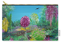 A Corner Of Heaven In Rural Indiana Carry-all Pouch by Alys Caviness-Gober