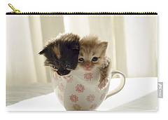 A Cup Of Cuteness Carry-all Pouch by Spikey Mouse Photography