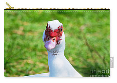 A Curious Muscovy Duck  Carry-all Pouch