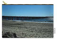 Carry-all Pouch featuring the photograph A Day At The Beach by Michael Gordon
