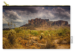 A Day At The Superstitions  Carry-all Pouch