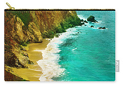 A Day On The Ocean Carry-all Pouch