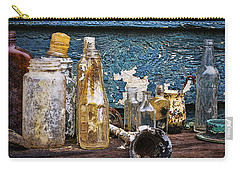 Carry-all Pouch featuring the photograph Treasures Of A Scuba Diver by Peggy Collins