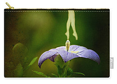 A Fairy In The Garden Carry-all Pouch