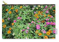 Carry-all Pouch featuring the digital art A Field Of Flowers by Eva Kaufman