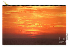 Carry-all Pouch featuring the photograph A Final Splash Of Color by Mariarosa Rockefeller
