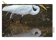 Carry-all Pouch featuring the photograph A Fine Catch by Kate Brown