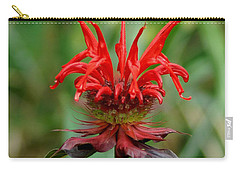 A Flowering Red Castle Beauty Carry-all Pouch