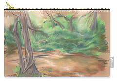 A Forest Brook Carry-all Pouch