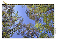 A Forest Sky Carry-all Pouch by Gordon Elwell