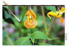 Carry-all Pouch featuring the photograph A Fragile Flower by Chalet Roome-Rigdon