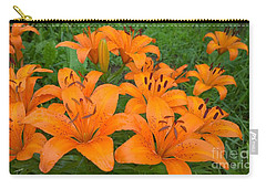 A Garden Full Of Lilies Carry-all Pouch