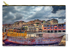 Carry-all Pouch featuring the photograph A Genesis Sunrise Over The Old City by Ronsho