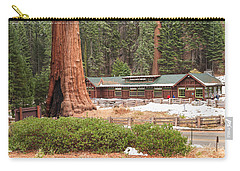 A Giant Among Trees Carry-all Pouch by Muhie Kanawati