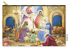 A Glorious Nativity Carry-all Pouch