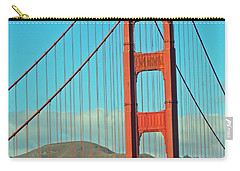 A Golden Gate View Carry-all Pouch