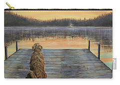 A Golden Moment Carry-all Pouch by Susan DeLain