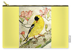 A Goldfinch Spring Carry-all Pouch
