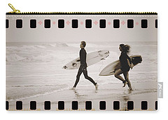 Carry-all Pouch featuring the photograph A Good Day To Surf by Alice Gipson