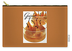 A Gourmet Cover Of Baked Pears Carry-all Pouch