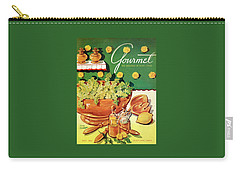 A Gourmet Cover Of Dandelion Salad Carry-all Pouch