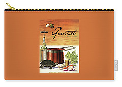 A Gourmet Cover Of Turtle Soup Ingredients Carry-all Pouch