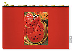 A Gourmet Cover Of Watermelon Sorbet Carry-all Pouch