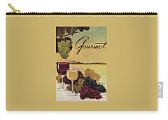 A Gourmet Cover Of Wine Carry-all Pouch