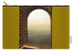 Carry-all Pouch featuring the photograph A Great View Of China by Nicola Nobile