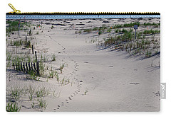 A Gull's Walk To The Ocean Carry-all Pouch