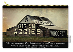 A Handful Of Aggies Carry-all Pouch by Stephen Stookey