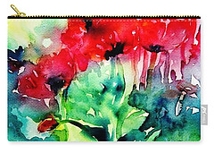 A Haze Of Poppies Carry-all Pouch