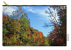 Carry-all Pouch featuring the photograph A Hidden Creek by Kelly Mills