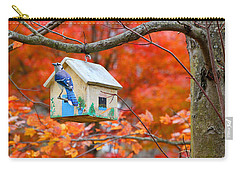 Carry-all Pouch featuring the photograph A Home In The Country by Mariarosa Rockefeller