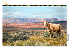 A Horse With No Name Carry-all Pouch