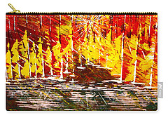 A Hot Summer Day.- Sold Carry-all Pouch by George Riney
