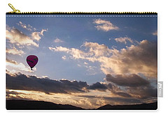 Carry-all Pouch featuring the photograph A Lone Flight by Glenn McCarthy Art and Photography